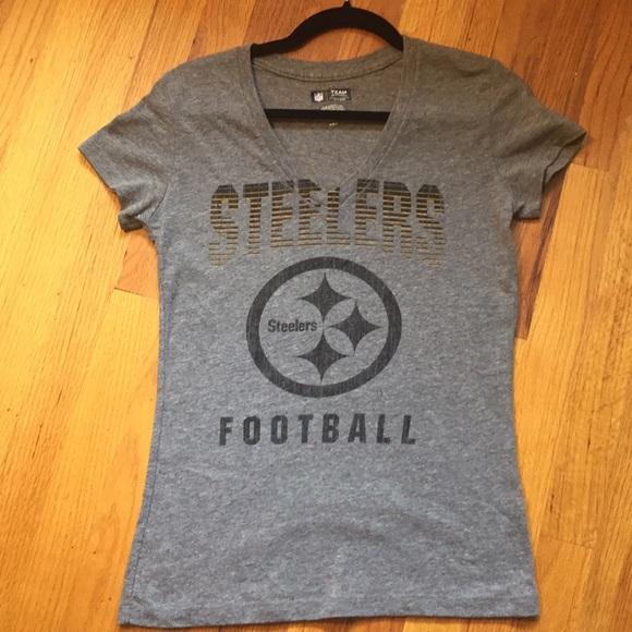 Women s NFL Football Pittsburgh Steelers Tee. M 5bcb41a61b329460d6d45912 8e979a1fe1